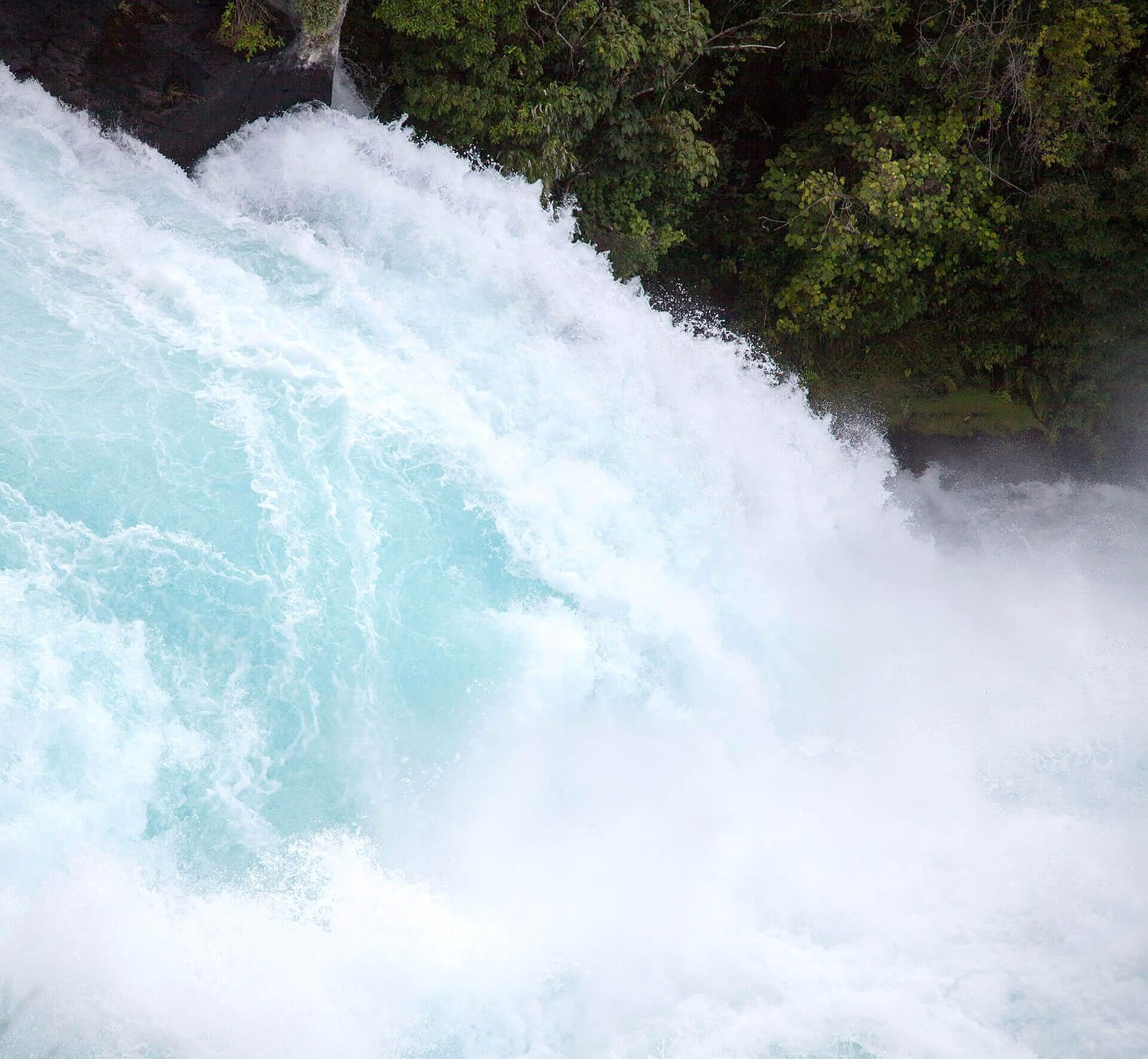 Atemtherapie Wasserfall